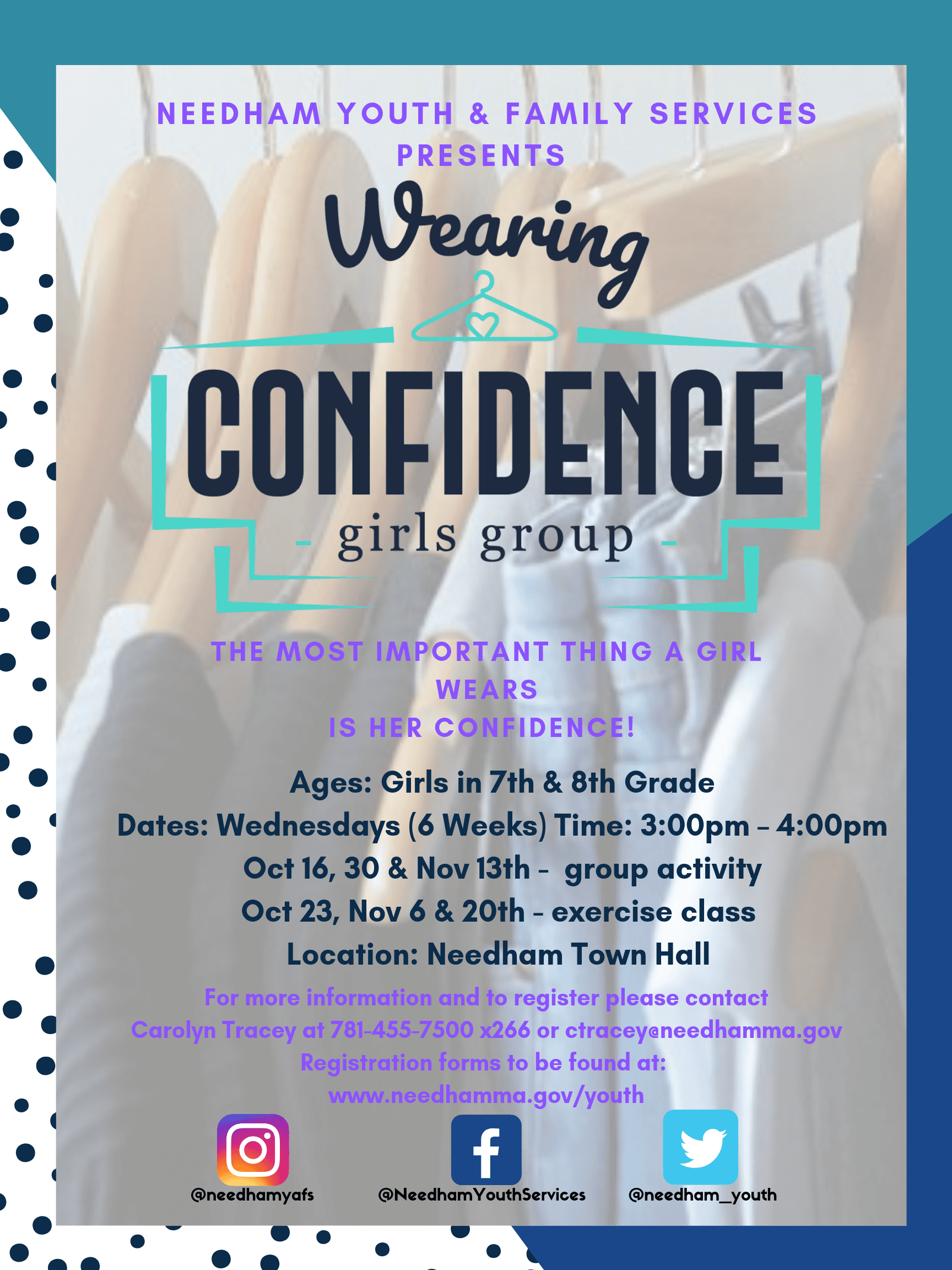 Wearing Confidence Flyer
