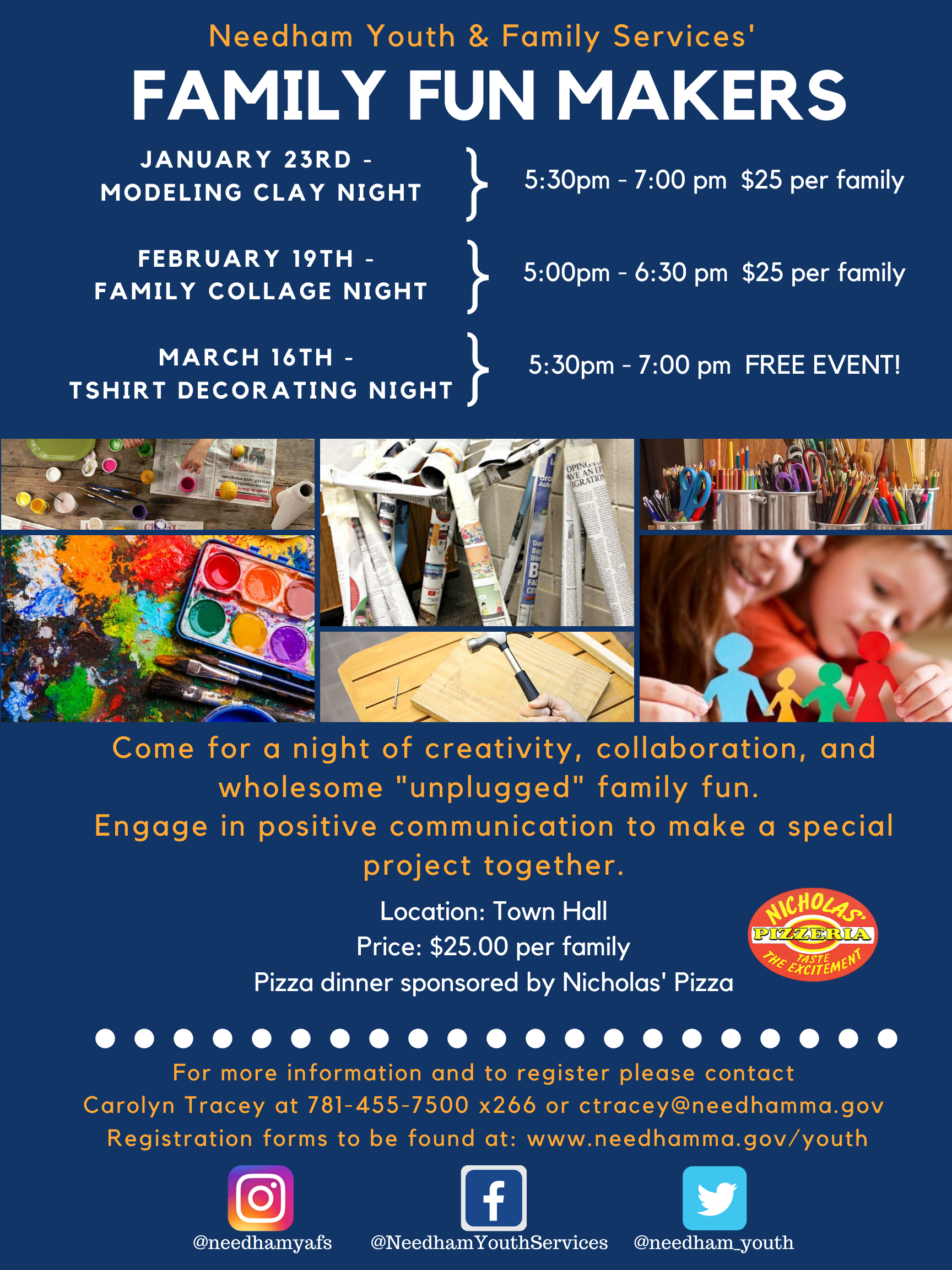 Family Fun Makers Flyer 2020