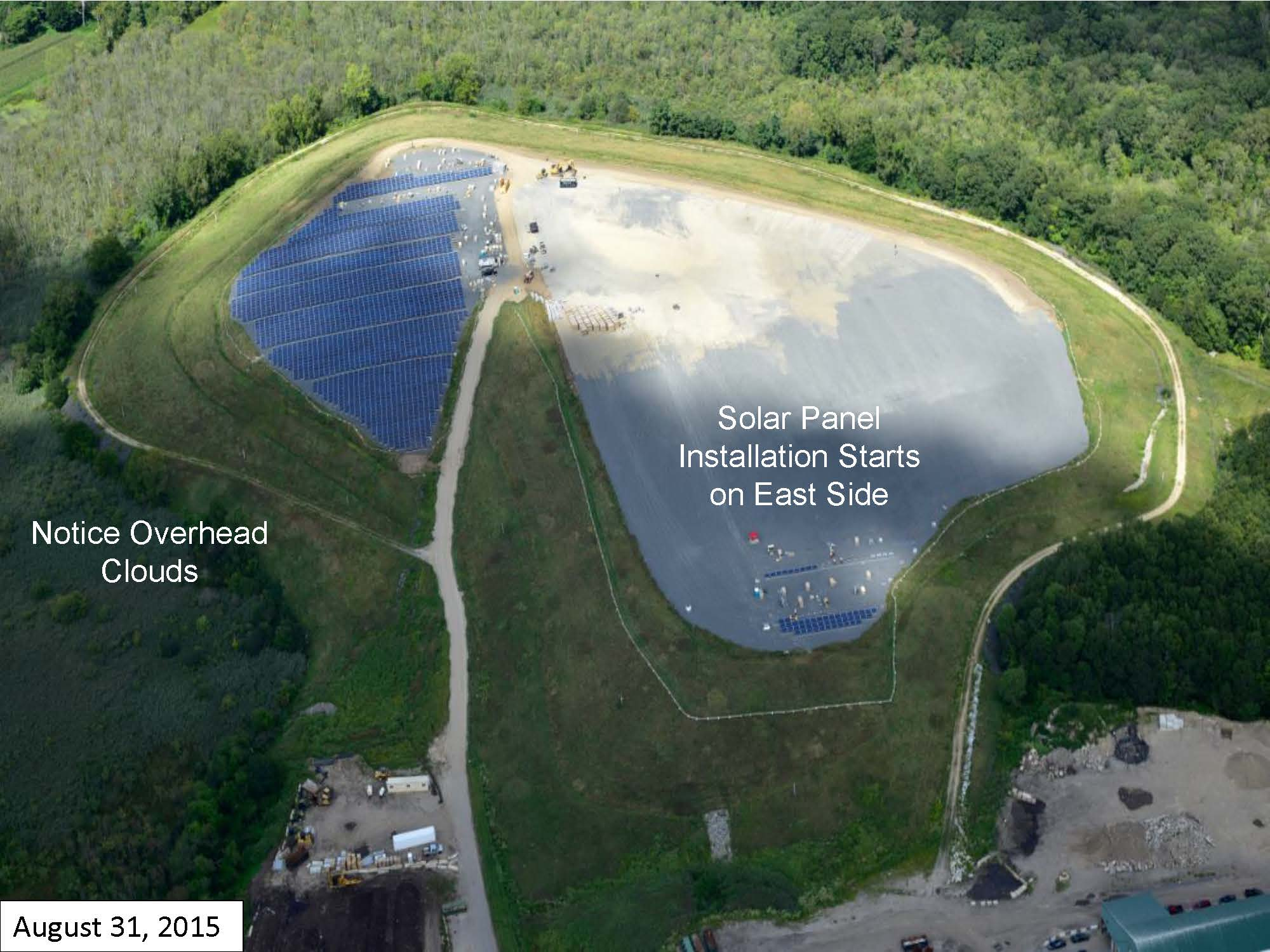 Page 7 of the Green Needham Presentation of the Solar 1 Landfill Project